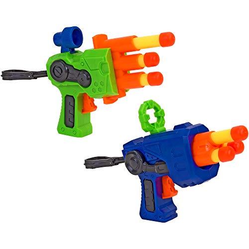 W\'TOY- Pistola Soft con 6 Proiettili, 2 Pezzi, Multicolore, 37566