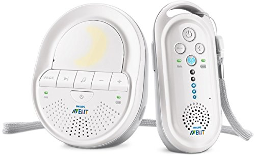 Philips AVENT Audio Monitors SCD506/01 vigila bebes - Vigilabebé (DECT, Color blanco,...