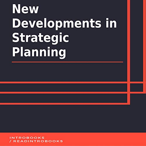 New Developments in Strategic Planning cover art