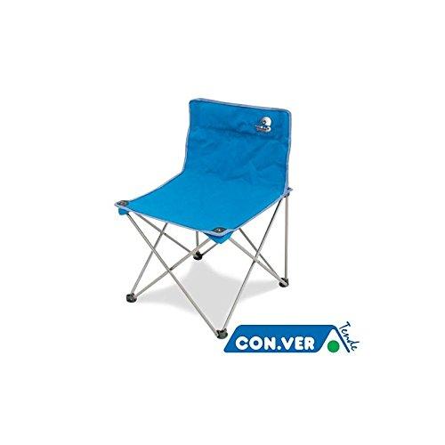 Stoel STORM CONVER Folding in ijzer met schoudertas camping zee strand