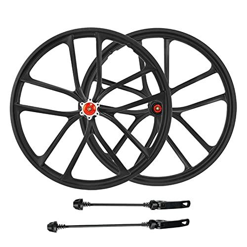 TYXTYX 20 Inch Bicycle Wheel, Magnesium Alloy Mountain Bike Quick Release Disc Brake Wheel Cassette Wheel Set