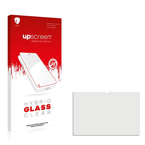 upscreen Hybrid Glass Screen Protector compatible with HP Pavilion x360 14-dw1777ng - 9H Glass Protection