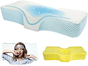 Memory Foam Anti-Snore Pillows for Neck Pain Relief - Ergonomic Orthopedic Cervical Pillow for Neck Support and Shoulder Pain - Side Sleeper Contour Pillow with Machine Washing Pillow Cover