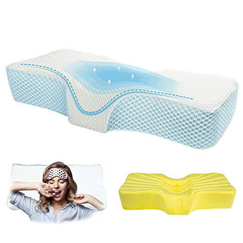 Memory Foam Anti-Snore Pillows for Neck Pain...