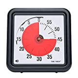 (1 Pack) - Time Timer Audible Countdown Timer, Black