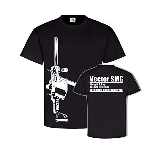 Vector SMG Mp Pistola de máquina DEKO USA 9 mm COD Airsoft – T Shirt #26632