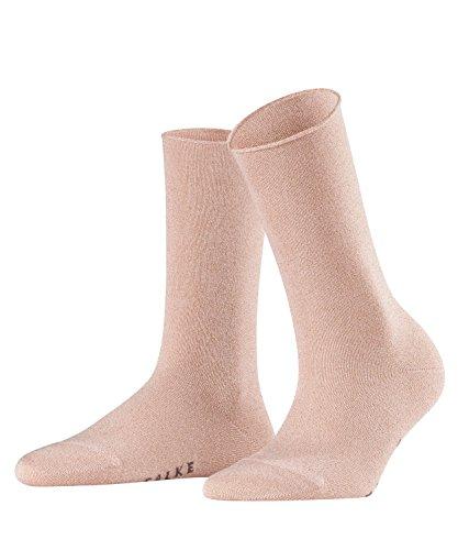 FALKE Damen Socken Shiny - Viskosemischung, 1 Paar, Rosa (Blossom 8645), Größe: 35-38