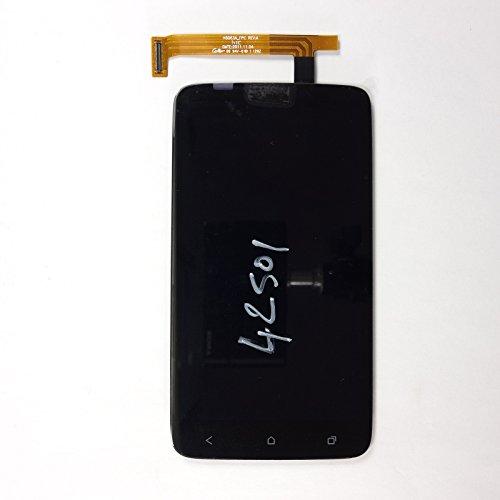 LCD-Bildschirm Retina für HTC One XL - Schwarz