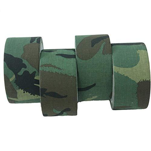 LSB-Huntingg Bande adhésive imperméable pour extérieur Unisexe 5 cm x 10 m Camouflage Armée Décoratif pour jeux de guerre