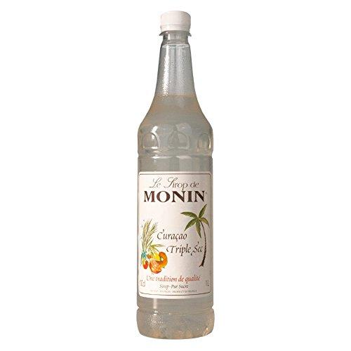 Monin Sirup Curaçao Triple Sec, 1,0L PET, 1er Pack