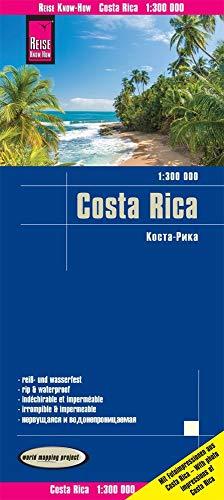 Reise Know-How Landkarte Costa Rica (1:300.000): reiß- und wasserfest (world mapping project)