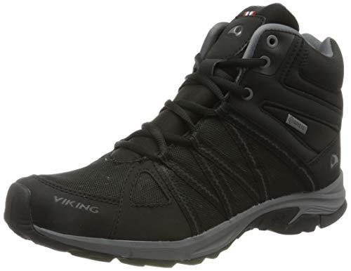 viking Herren Day Mid GTX M Walking-Schuh, Black,44 EU