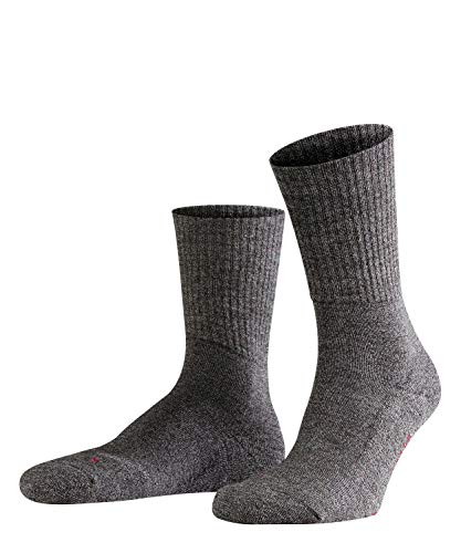 FALKE Unisex Socken, Walkie Light U SO-16486, Grau (Smog 3150), 46-48