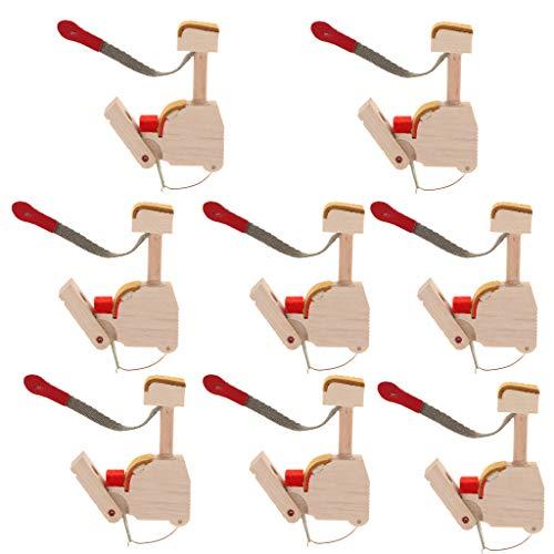 8 Stücke Piano Hammer Butts Geeignet für aufrechtes/vertikales Klavier