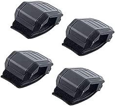 UTV Windshield Adjustable Mounting Clamp Kit - Windshield Fixed Clamps Straps for Polaris Ranger RZR, Commander Defender X3 Maverick, Yamaha YXZ Viking Rhino, Kawasaki Mule Teryx Windshield Parts 4PCS