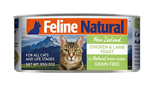 Canned Cat Food by Feline Natural