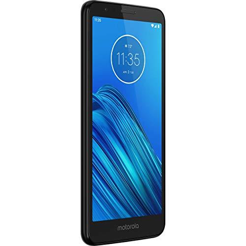 Motorola - Moto E6 Smartphone w/ 16GB Memory, Unlocked - Starry Black