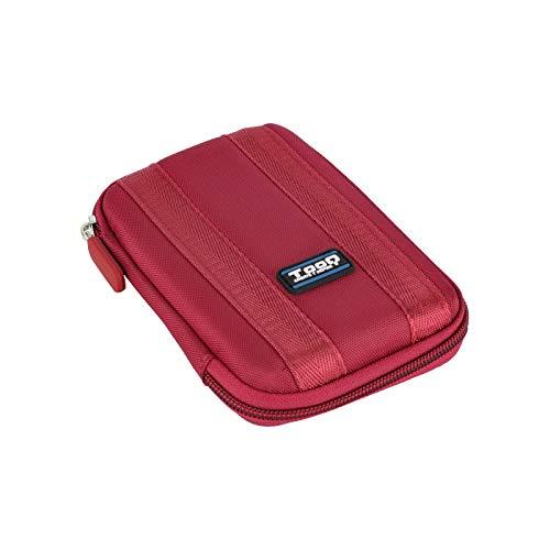 """TooQ TQBC-E2502 - Funda protectora para disco duro 2.5"""" resistente a golpes (16x11.5x4.0 cm), para carcasas TooQ 2.5"""" color Rojo"""