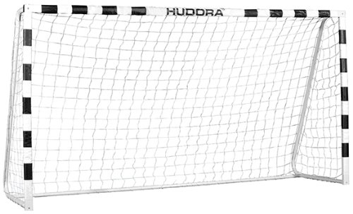 Hudora 76903 Fußballtor Stadion mit echten 200 cm Höhe