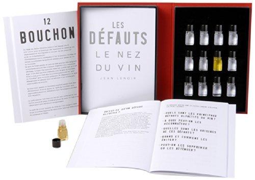 Le Nez du Vin - Set 12 Aromi DIFETTI del vino - EDIZIONE ITALIANA - Kit Sommelier Professionale Allena Olfatto - Jean Lenoir