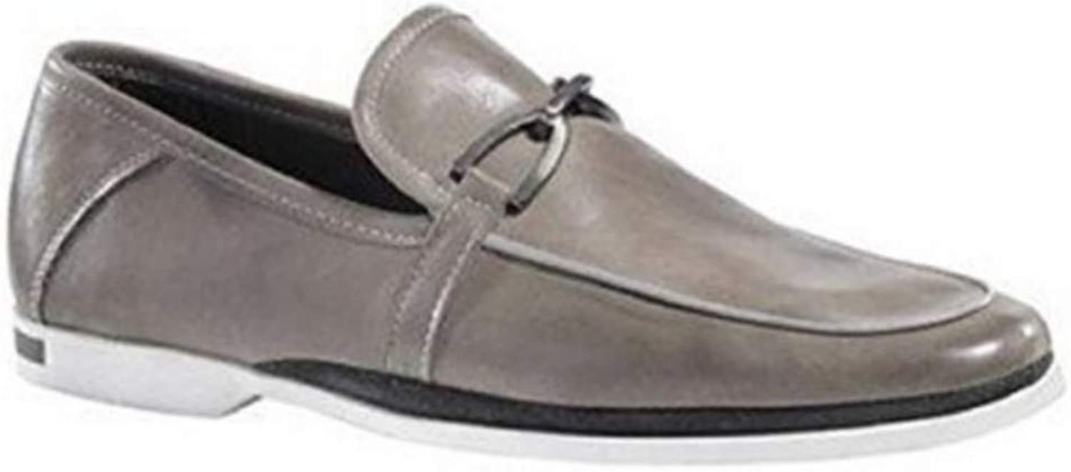 Mens Slippers By Dini Patrizia Women's Leather-Grey