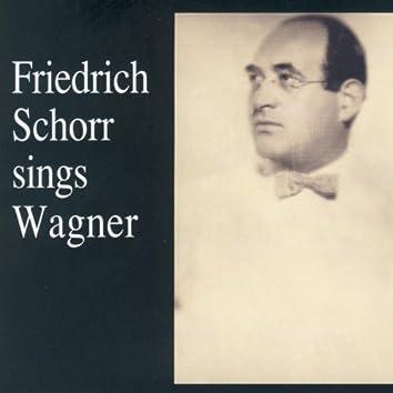 Lebendige Vergangenheit - Friedrich Schorr