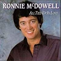 All Tied Up In Love - Ronnie Mcdowell LP