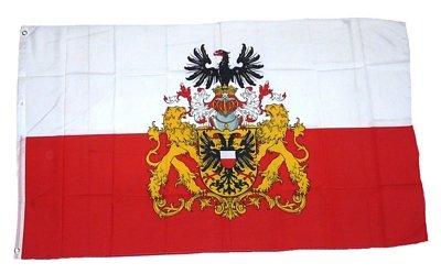 Fahne / Flagge Lübeck Prachtwappen 90 x 150 cm Fahnen
