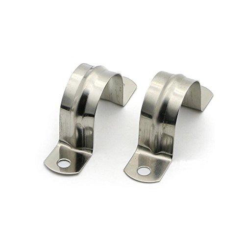 50MMAbrazadera de tubo de acero inoxidable 304 abrazadera de fijación de tubo Abrazadera de tubo Alicates de abrazadera de tubo tipo U abrazadera de acero en forma de U 10PCS