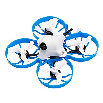 BETAFPV Meteor75 DSMX 1S Brushless Whoop Drone with F4 1-2S AIO FC BT2.0 Connector 1102 18000KV Motor M01 AIO Camera for Tiny Whoop Micro FPV Racing Whoop Drone Quadcopter by Betafpv