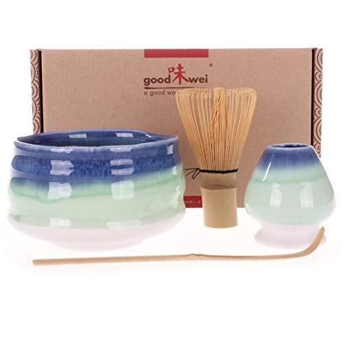'goodwei japonés Juego de té Matcha 'Sumi–con caja de regalo 120