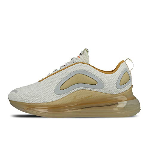 Nike Air Max 720 Mens Running Trainers CI6393 Sneakers Shoes (UK 8 US 9 EU 42.5, White Anthracite Vanilla 100)