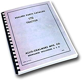 Allis Chalmers 170 Tractor Parts Catalog Manual Exploded Views