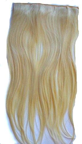 JM-Fashion-Supply XXL 50-55 5Clips in Extention Haarverlängerung Haarteil hitzebeständig wie Echthaar div. Farben (hellblond 613#)