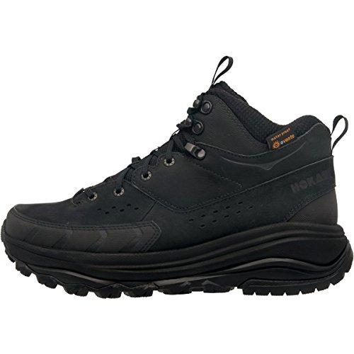 HOKA ONE ONE Men's Tor Summit Mid Waterproof Hiking Shoe,Brown/Golden Rod Nubuck