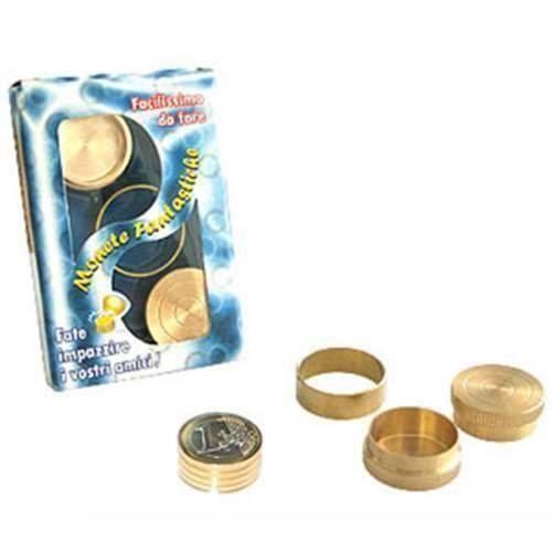 SOLOMAGIA Monete fantastiche - 1 Euro - Magia con Monete - Giochi di Magia e Prestigio