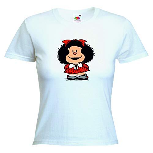DrMugCollection Camiseta Mafalda Mujer (S)