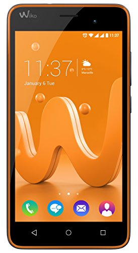 Wiko Jerry Smartphone entsperrt H + (Display: 5 Zoll – 8 GB – Dual-SIM-Micro – Android)