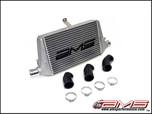 AMS 2003-07 Mitsubishi Evo 8 / 9 Front Mount Intercooler With Logo