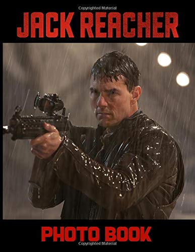 Jack Reacher Photo Book: Jack Reacher Stunning Photo Book Image Books For Adult And Kid (Unofficial)