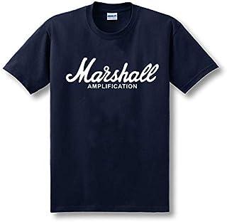Fever Speaker Sound Marshall Marshall Cotton Crew Neck Short Sleeve T-shirt