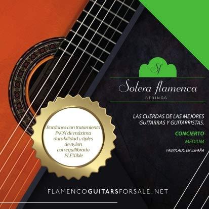 """Set de Cuerdas para guitarra Solera Flamenca STRINGS""""CONCIERTO"""""""