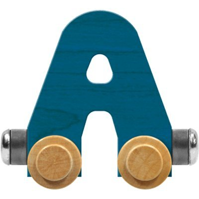 메이플 랜드마크 네임트레인 브라이트 레터 카 A-MADE IN USA(블루)