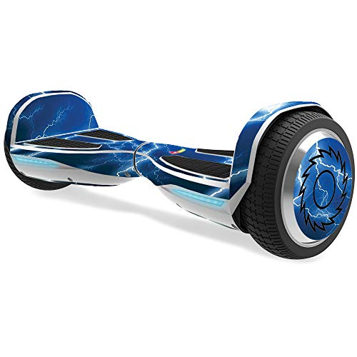 MightySkins Skin Compatible with Razor Hovertrax 1.5 Hover Board - Lightning Storm   Protective, Durable, and Unique Vinyl wrap Cover   Easy to Apply, Remove, and Change Styles   Made in The USA