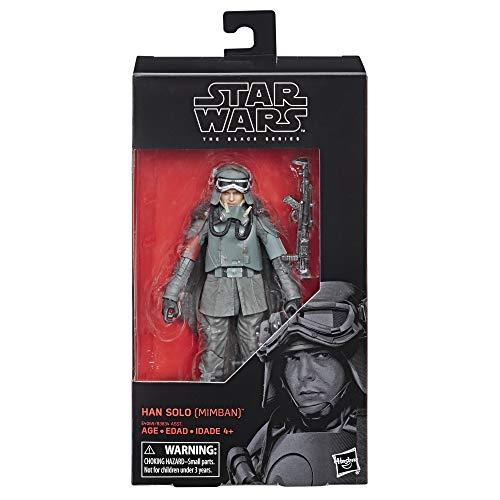 Hasbro Star Wars E4069ES0 The Black Series Han Solo (Mimban), 15 cm große Actionfigur
