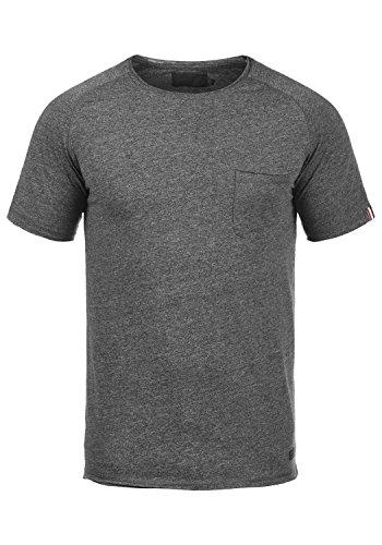 PRODUKT Xora Herren T-Shirt Kurzarm Shirt Mit Rundhalsausschnitt, Größe:M, Farbe:Black