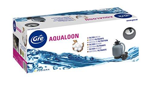 Gre AQ700 - Medio filtrante Aqualoon para Piscina, 700 gramos