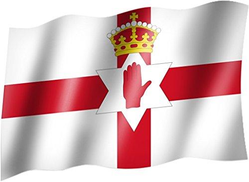 Flagge/Fahne NORDIRLAND / NORD IRLAND Staatsflagge/Landesflagge/Hissflagge mit Ösen 150x90 cm, sehr gute Qualität
