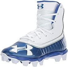 Under Armour Boys' Highlight RM Jr. Football Shoe, Team Royal (401)/White, 6