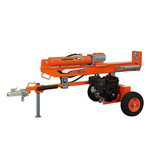 YARDMAX YU3566 35 Ton Full Beam Gas Log Splitter